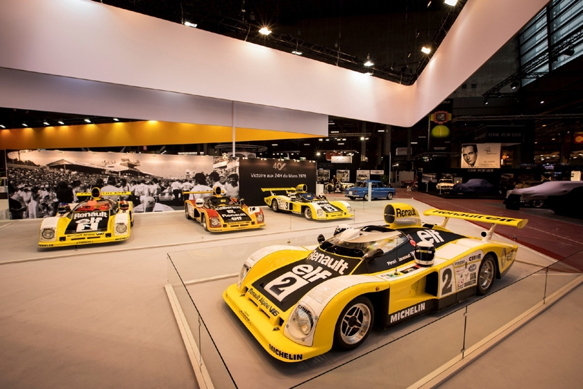 Alpine marks 40th anniversary of Le Mans triumph at Retromobile Paris