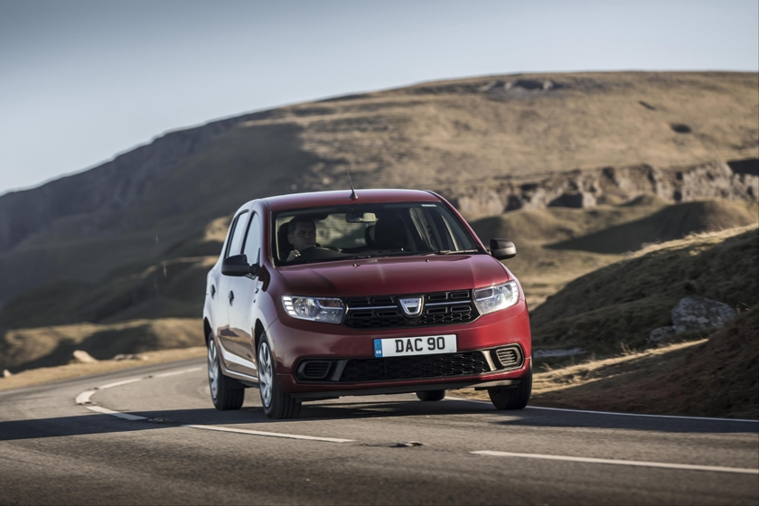 New Dacia Sandero tops cap hpi's lowest cost of ownership list