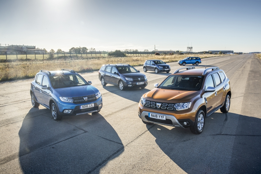 Dacia launches new finance offers for 2019