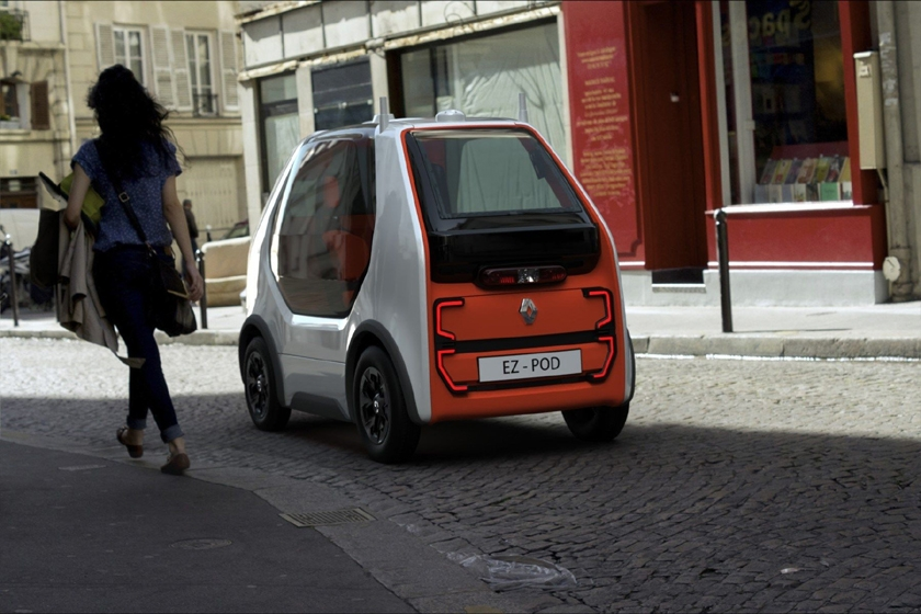 Renault EZ-POD, an exploratory vehicle for the first and last Mile