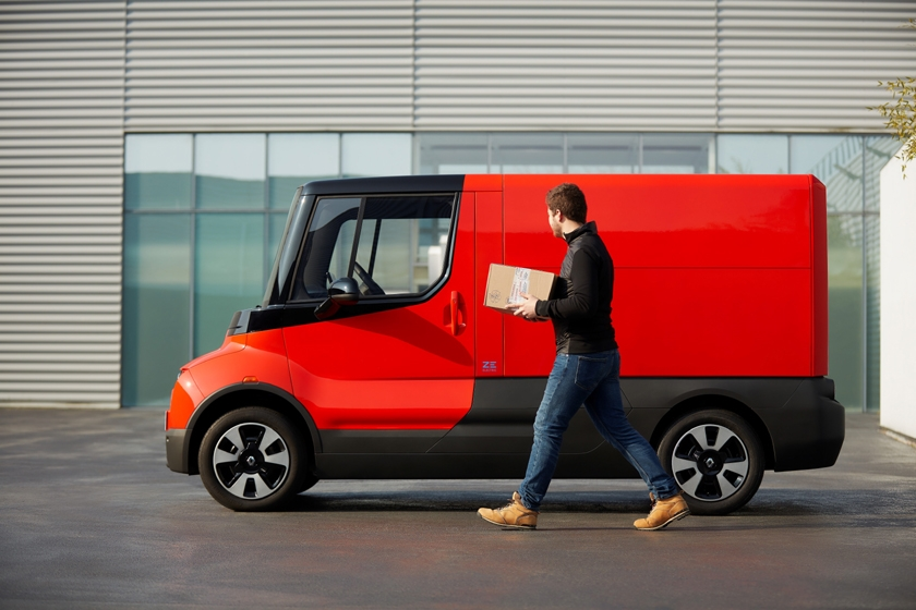 Renault EZ-FLEX and LA POSTE Trial for Last Mile Deliveries