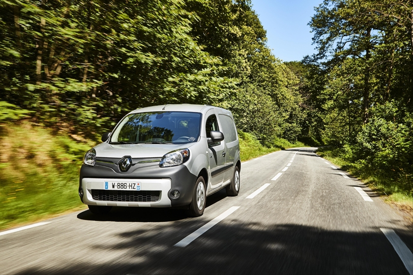 New Renault Kangoo Van Z.E.33 with over 50 per cent more range arrives in the UK