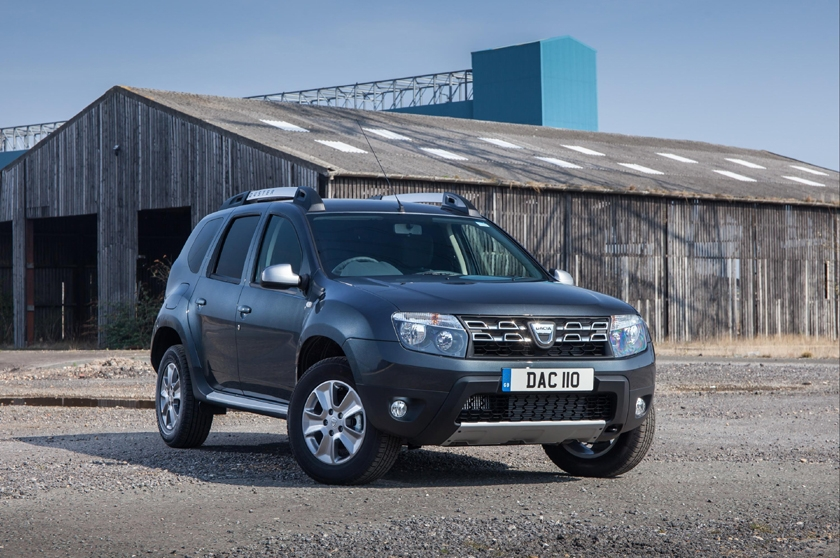 Dacia Duster Commercial wins 'Best 4x4 Van' for third consecutive year in What Van? Awards 2018