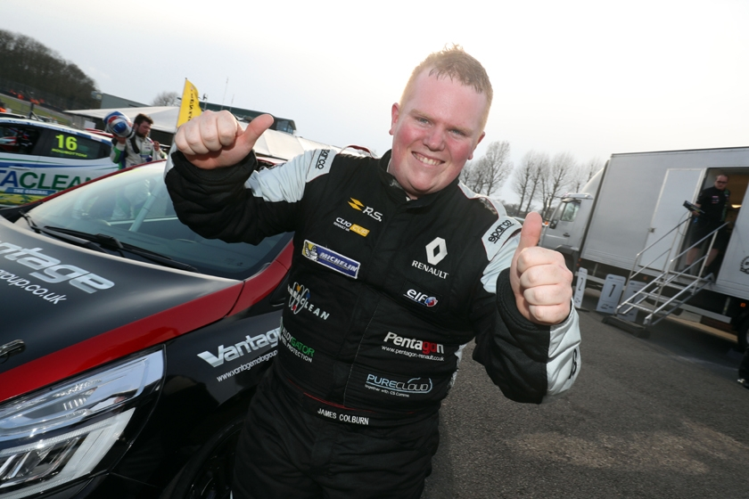 James Colburn joins Renault UK Clio Cup for June´s Croft Rounds