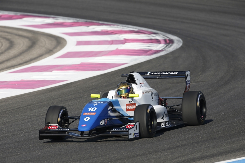 Robert Shwartzman on pole at Circuit Paul Ricard