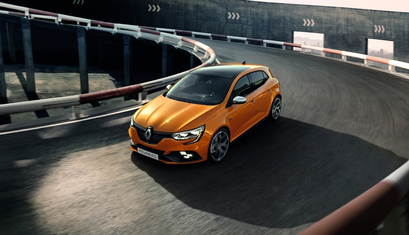 New Mégane R.S.: prices released for the agile, efficient and versatile sports car