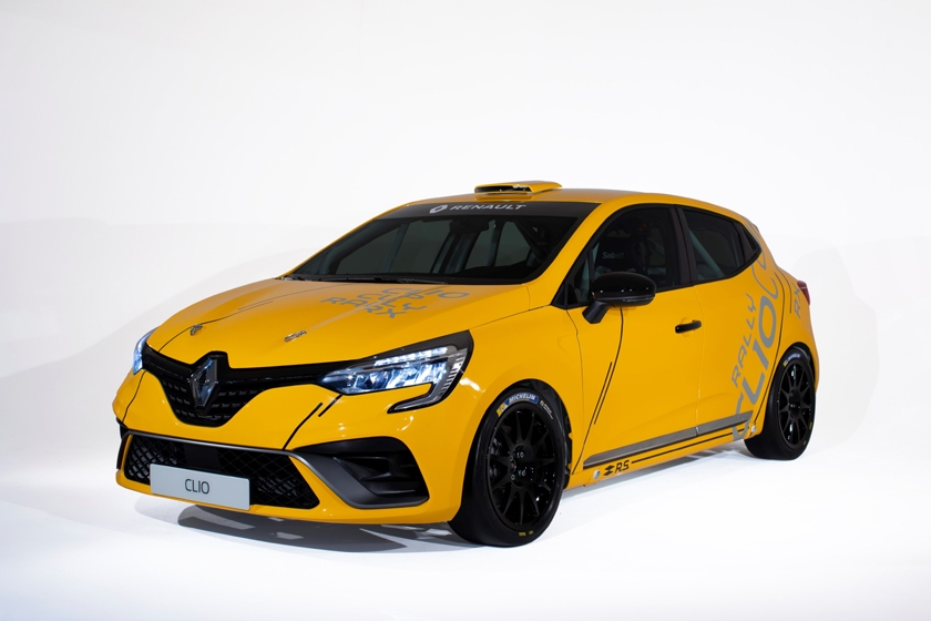 Clio Cup, Clio Rally, Clio RX: variations on the same theme