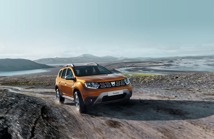 All-New Dacia Duster: Star of the 2017 Frankfurt Motor Show as Grand Prix Auto Plus RTL winner