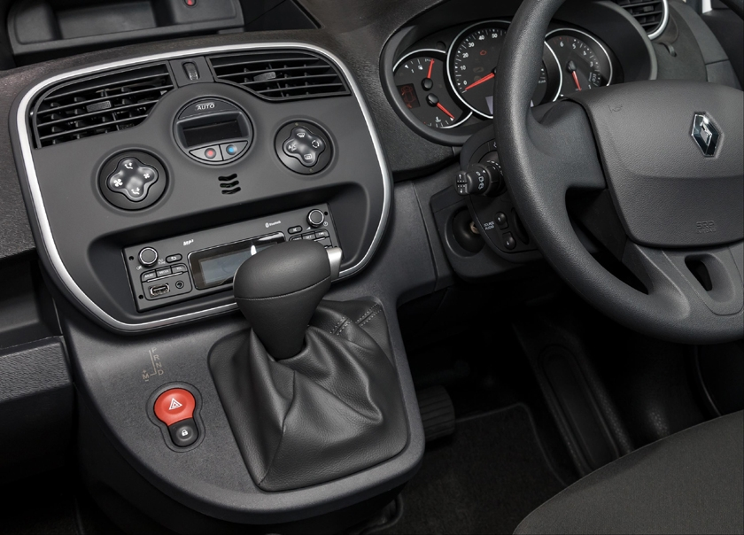 EDC transmission is automatic choice for Renault Kangoo