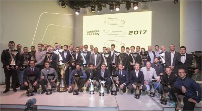Renault Sport Racing celebrates its 2017 Champions