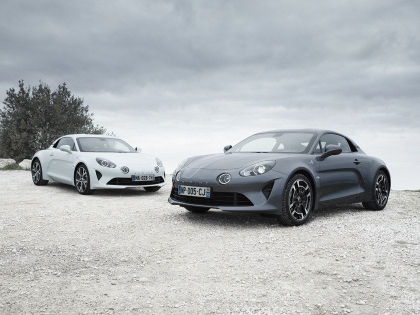 Two new versions for the Alpine A110 at the Geneva International Motorshow