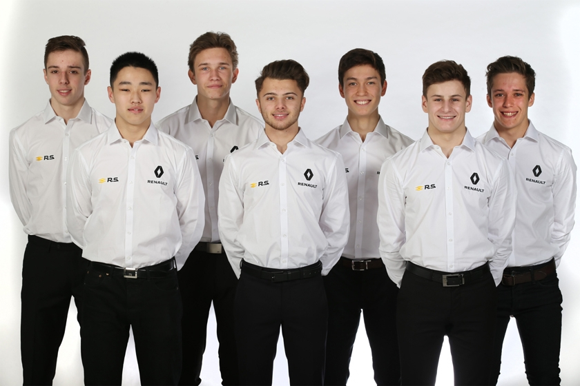Renault Sport Academy 2018 line-up announced