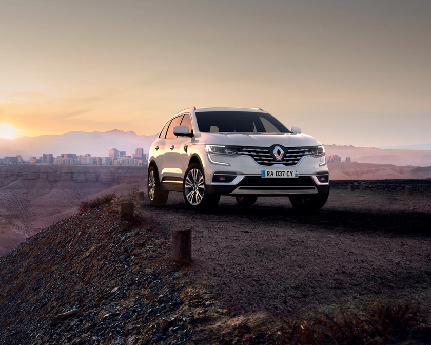 The New Renault KOLEOS greater style and comfort for Groupe Renault's large SUV