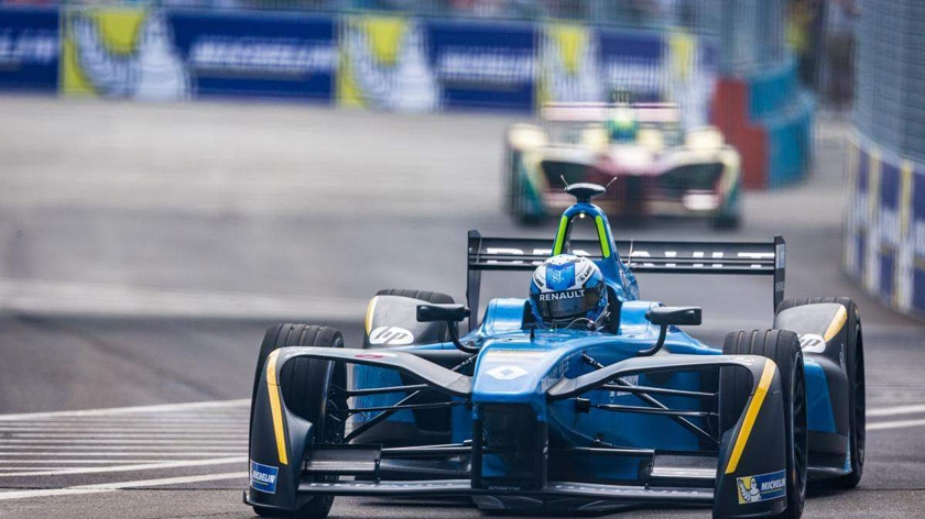 Renault e.dams score important points in new york city's saturday race