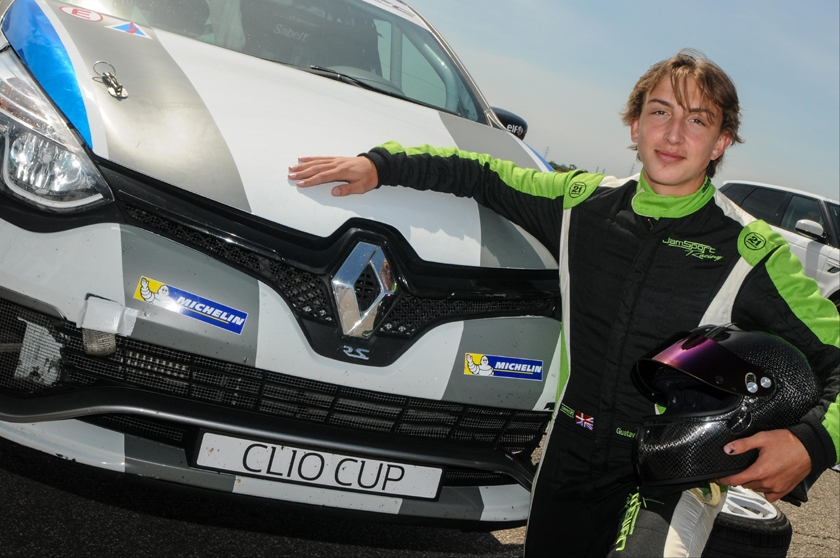 Colchester's Gus Burton looks to build experience ahead of Renault UK Clio Cup Junior in 2018