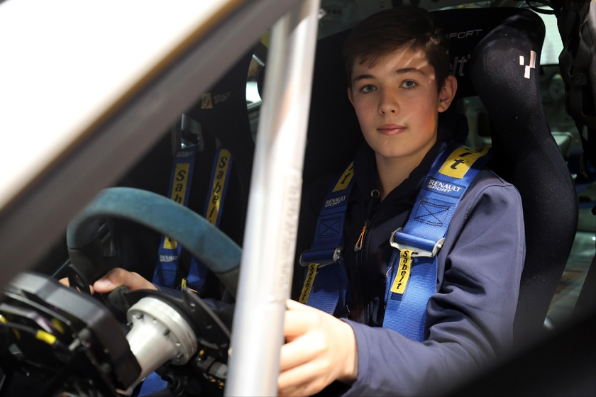 Surrey's Bradley Burns joins JamSport team for new Renault UK Clio Cup Junior championship