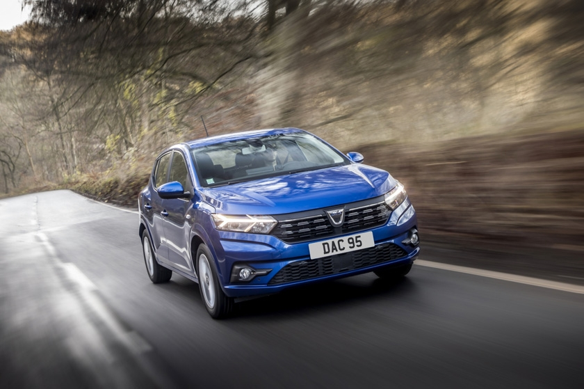 Dacia Sandero wins 'Best Small Car' at the What Car? Car of the Year Awards 2021
