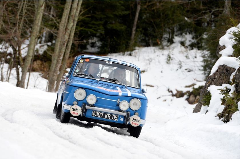 Renault enters four Renault 8 Gordinis in the 2017 Rallye Monte-Carlo Historique