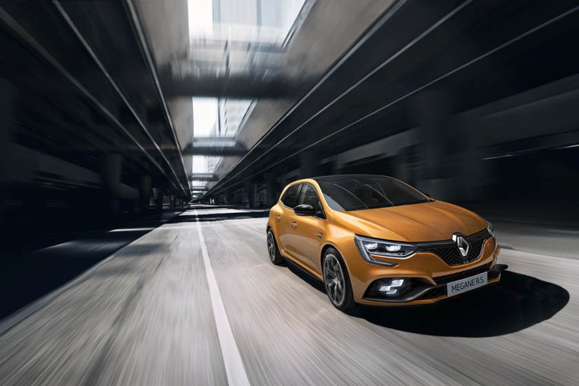 Renault unveils the All-New Renault MÉGANE R.S. at 2017 Frankfurt International Motor Show