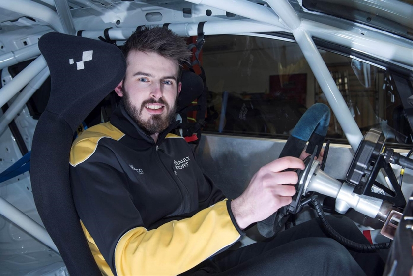 Harrogate's Myles Collins joins returning Westbourne team for 2017 Renault UK Clio Cup