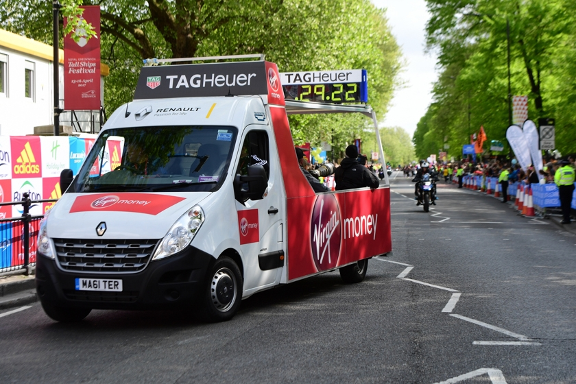 Renault Official Car Provider Of The Virgin Money London Marathon