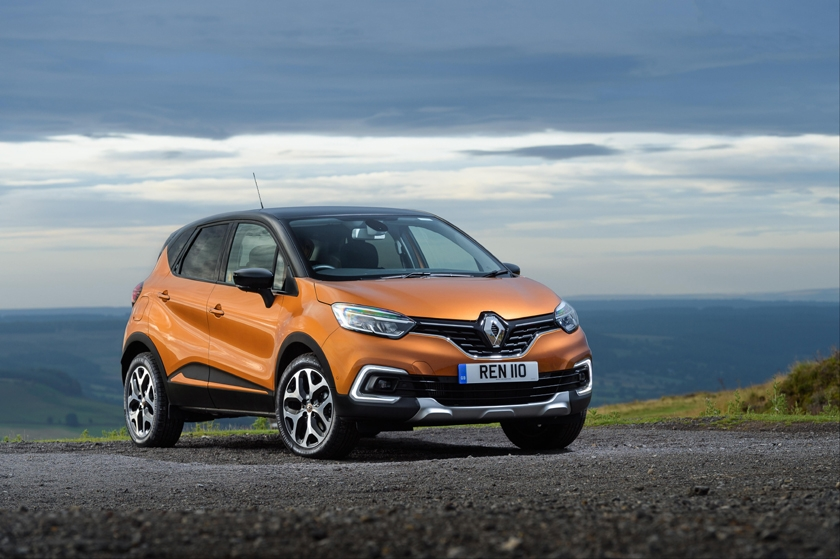 New Renault Captur named Best Compact SUV at BusinessCar Awards 2017