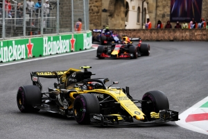 Top five finish for Renault Sport Formula One Team in Baku