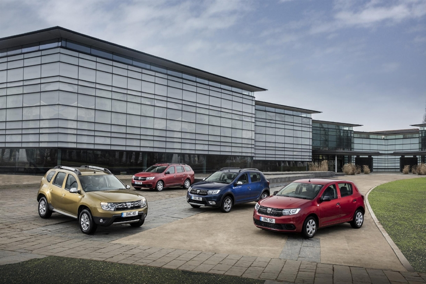 Dacia continues to prove a hit in the UK with growing sales