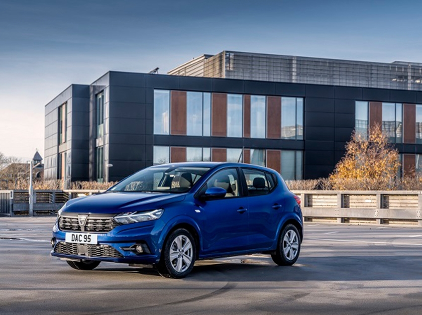 New Dacia Sandero and Stepway achieve Best-In-Class residual Values