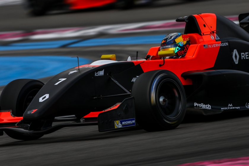 Neil Verhagen sets the pace at Circuit Paul Ricard