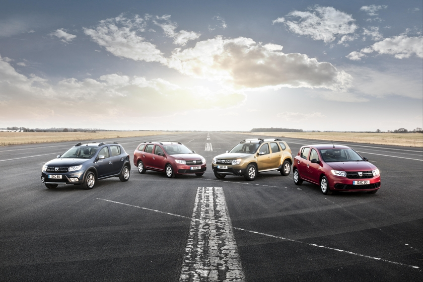 Dacia rated number one for value by UK car buyers