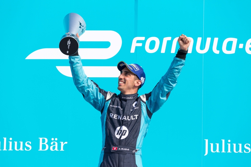 Renaut e.dams remporte la seconde course du ePrix de Berlin