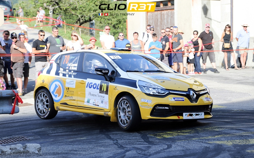 40. CRITÉRIUM JURASSIEN, 7. – 8. APRIL 2017: Hochklassiges Feld in der Renault Clio R3T Alps Trophy 2017!