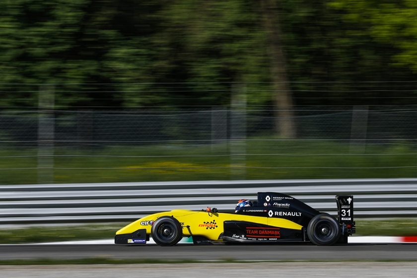 Christian Lundgaard goes quickest in practice at Monza
