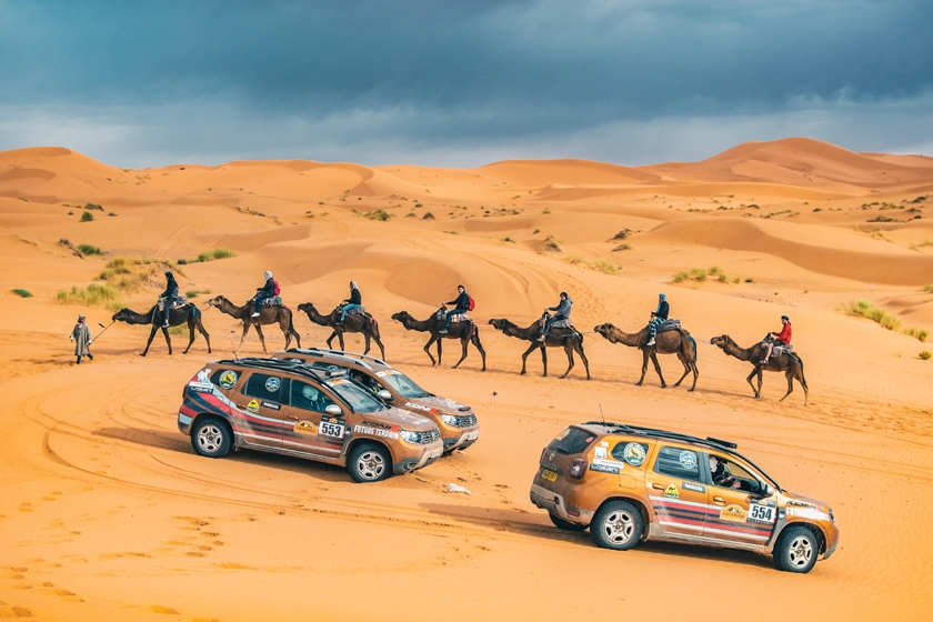 Armed forces charity complete 2,000km extreme Saharan rally in Dacia Dusters