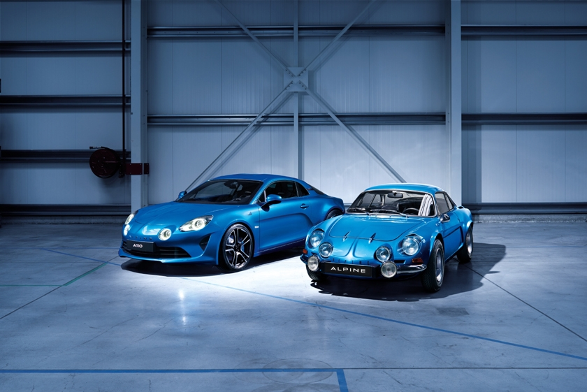 Alpine is back - A110, the compact and agile French sports car