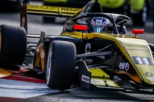 Victor Martins leads R-ace GP trio in Monaco practice