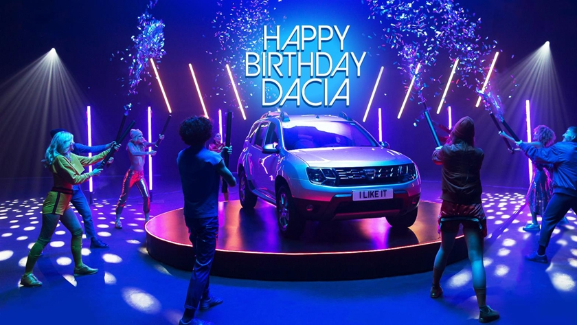 Happy Birthday Dacia! Celebrating five years in the UK