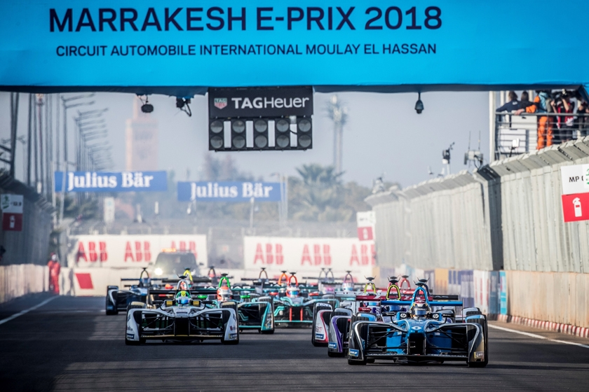 Podium finish for Renault e.dams in Marrakesh