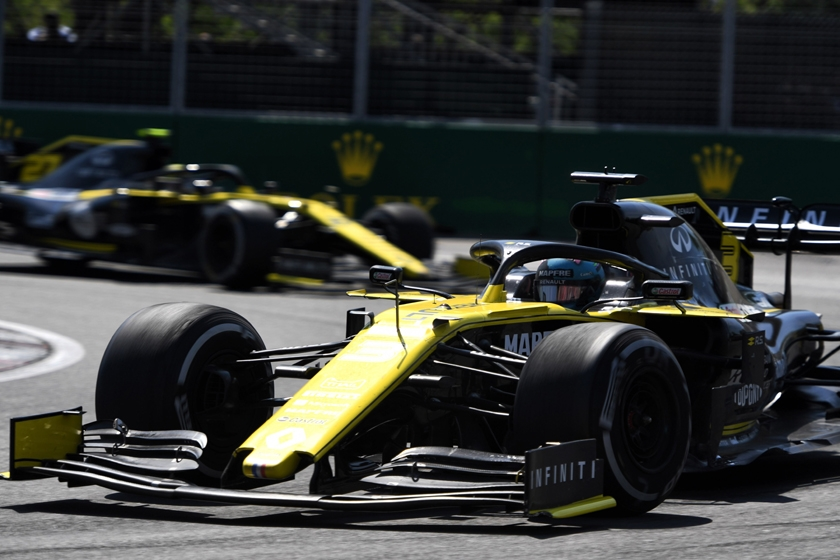 2019 Formula 1 Pirelli Canadian Grand Prix Results