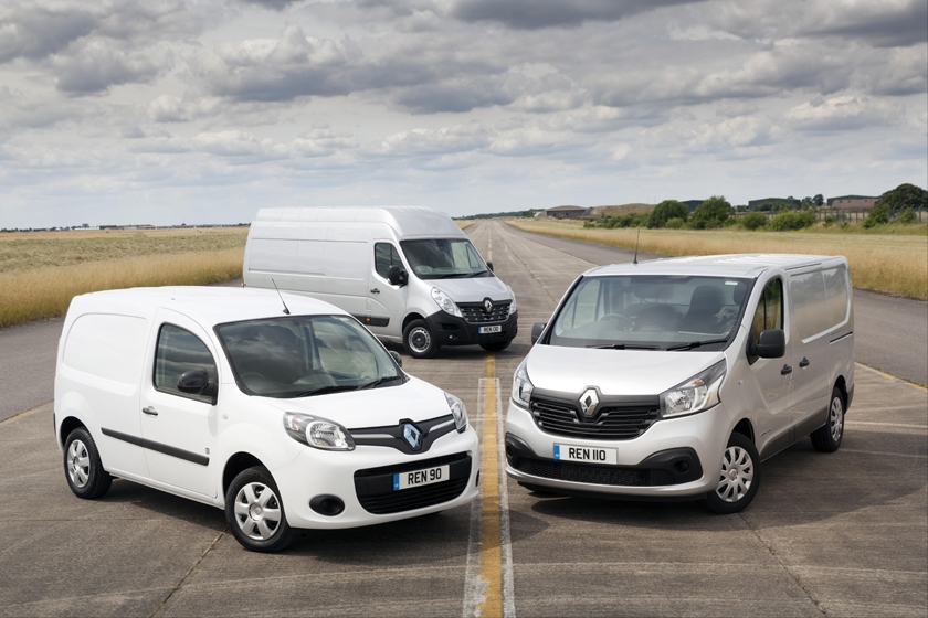 Record-Breaking 2016 for Renault Vans