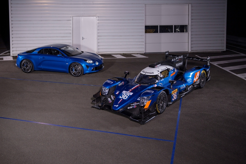 Alpine presents the A470 and its crews for the FIA World Endurance Championship