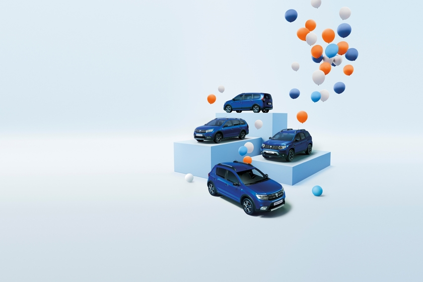 "Happy Dacia to You! An Anniversary Special Series ""DACIA 15 YEARS"" and a limited Edition Sandero ""CITY +"""