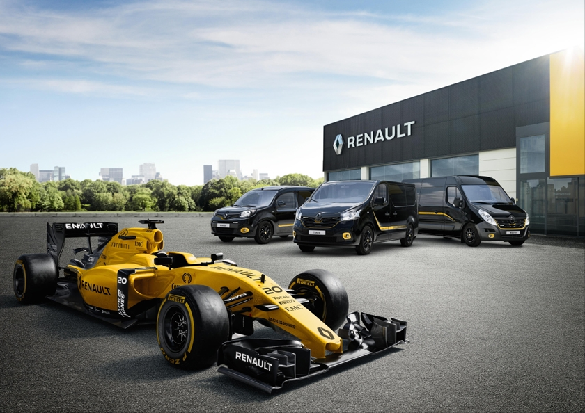 Formula Editions celebrate Renault Pro+ and Renault Sport Formula One team partnership