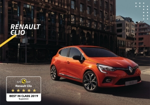 The all-new Renault Clio named by EURONCAP Best in Class Supermini in Terms of Safety