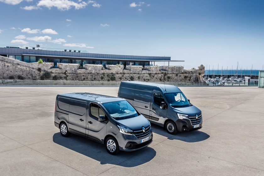 New Master and New Trafic Groupe Renault´s Best-Selling Vans renewed