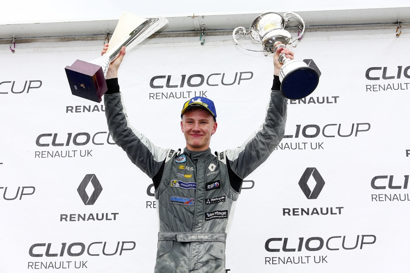 James Dorlin provisionally crowned 2018 Renault UK Clio Cup Champion