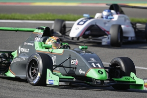 Fenestraz takes a step towards the title at Spa-Francorchamps