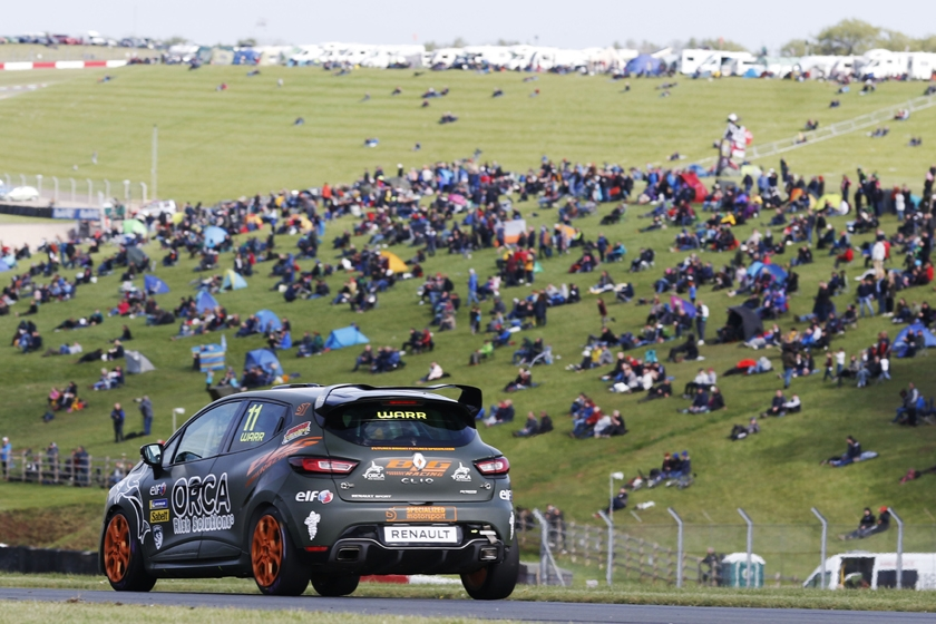 Six Renault UK Clio Cup Drivers to race in front of the french F1 Grand Prix crowds