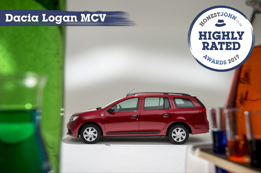 New Dacia Logan MCV awarded most highly rated car in Honest John Awards 2017